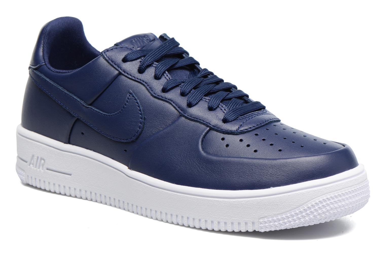 Baskets Nike Air Force 1 Ultraforce Lthr Bleu vue détail/paire