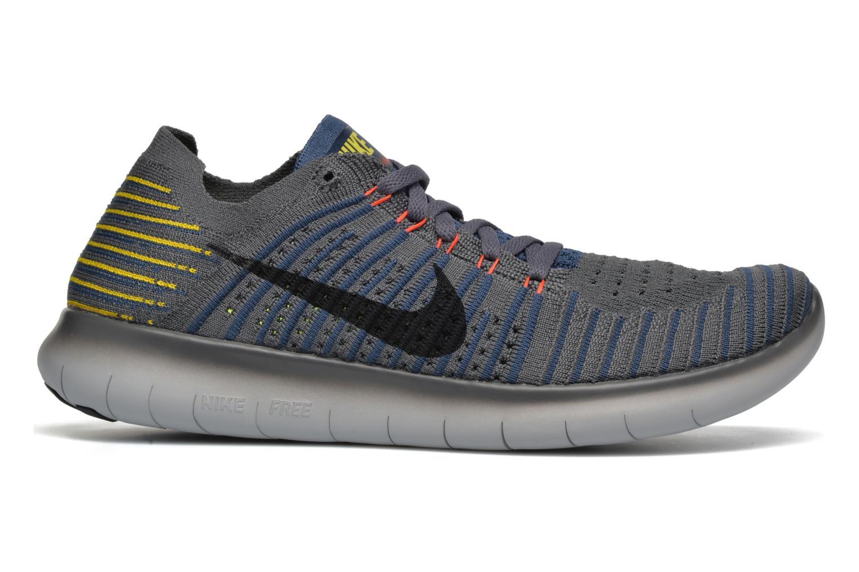 Chaussures de sport Nike Nike Free Rn Flyknit Gris vue derrière