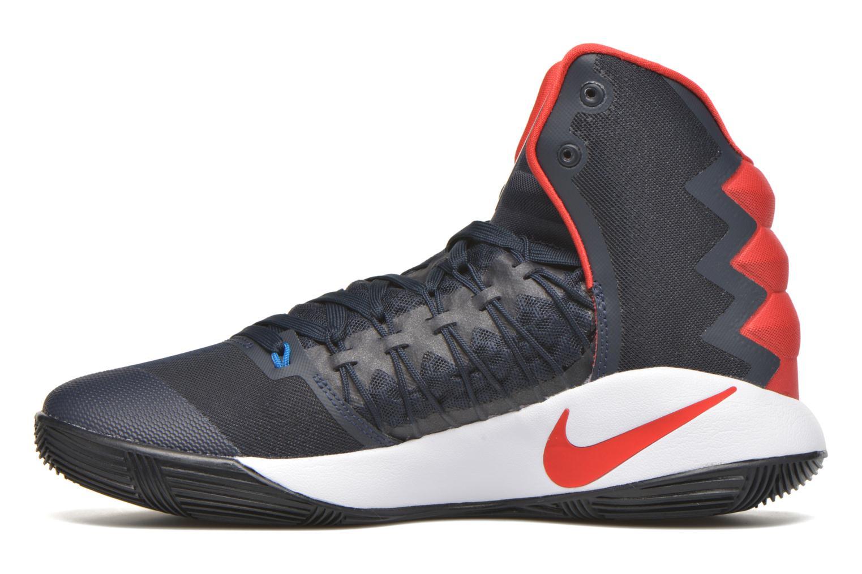 Sportschuhe Nike Nike Hyperdunk 2016 blau ansicht von vorne