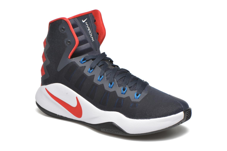 Sport shoes Nike Nike Hyperdunk 2016 Blue detailed view/ Pair view
