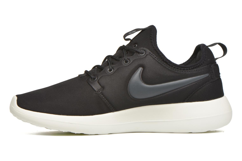 Sneakers Nike Nike Roshe Two Zwart voorkant