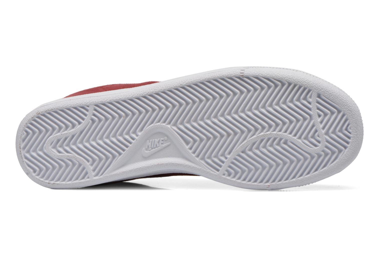 Sneaker Nike Tennis Classic Cs Suede weinrot ansicht von oben