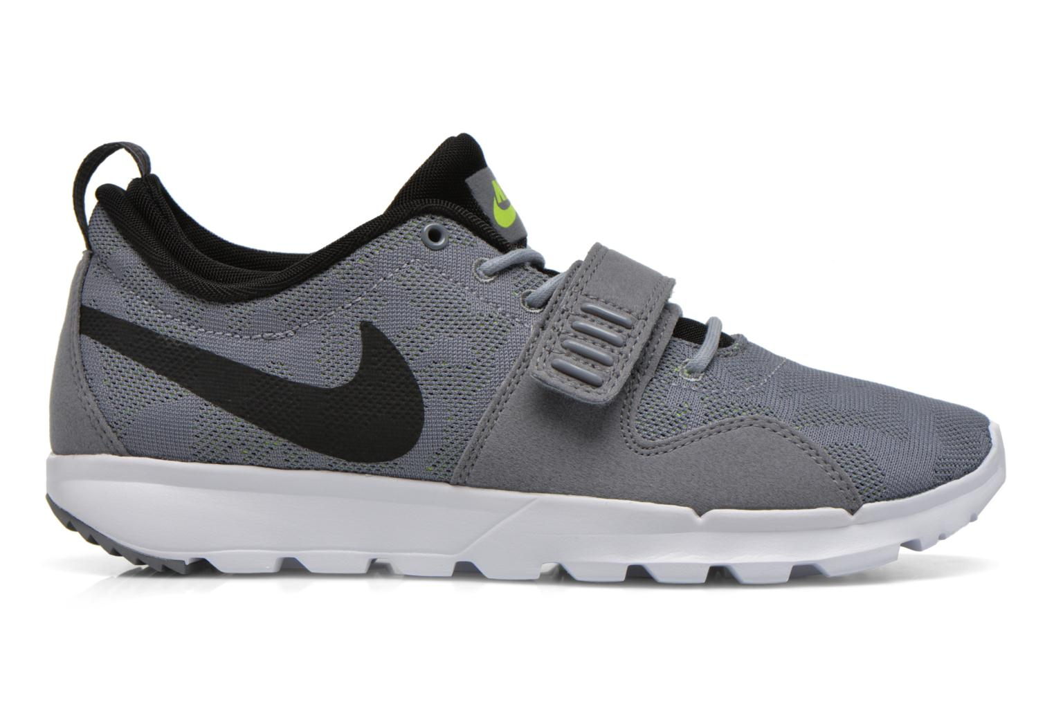 Sportschuhe Nike Trainerendor grau ansicht von hinten