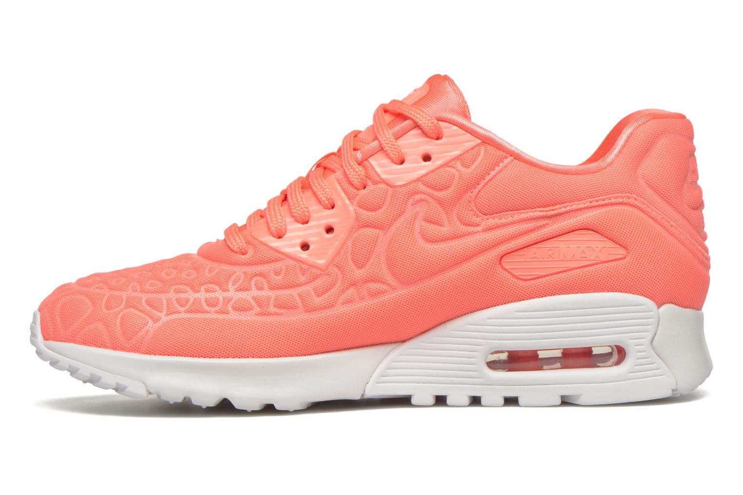 Sneakers Nike W Air Max 90 Ultra Plush Pink se forfra