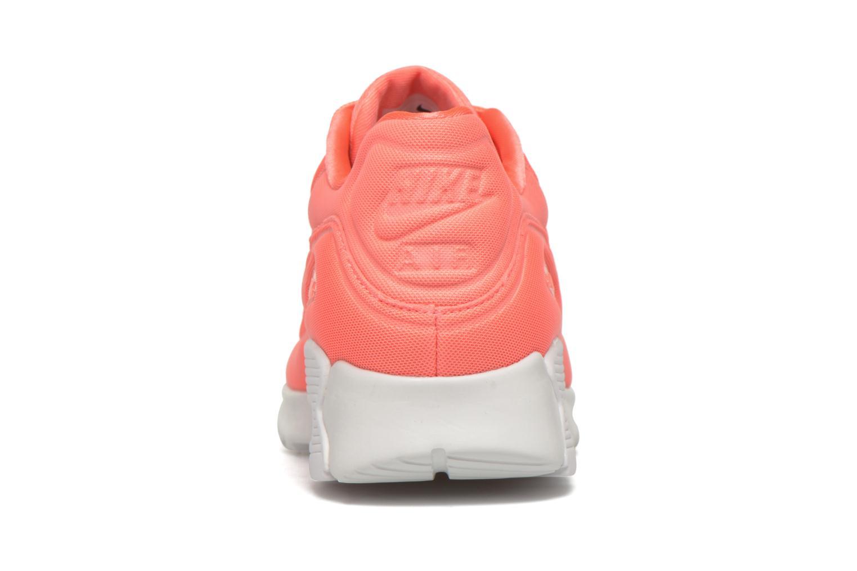 Baskets Nike W Air Max 90 Ultra Plush Rose vue droite