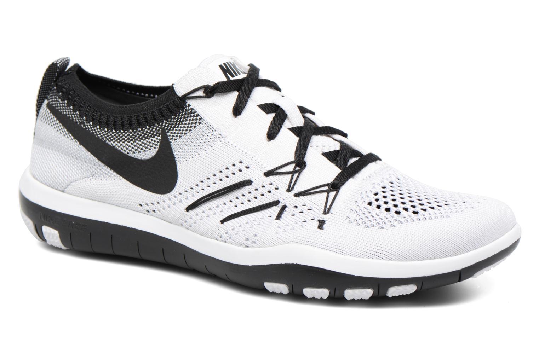 Chaussures de sport Nike W Nike Free Tr Focus Flyknit Blanc vue détail/paire