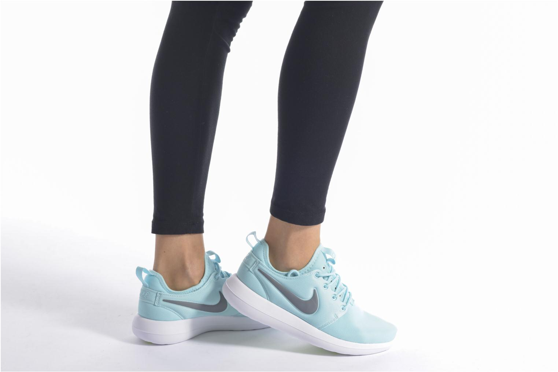 Baskets Nike W Nike Roshe Two Orange vue bas / vue portée sac