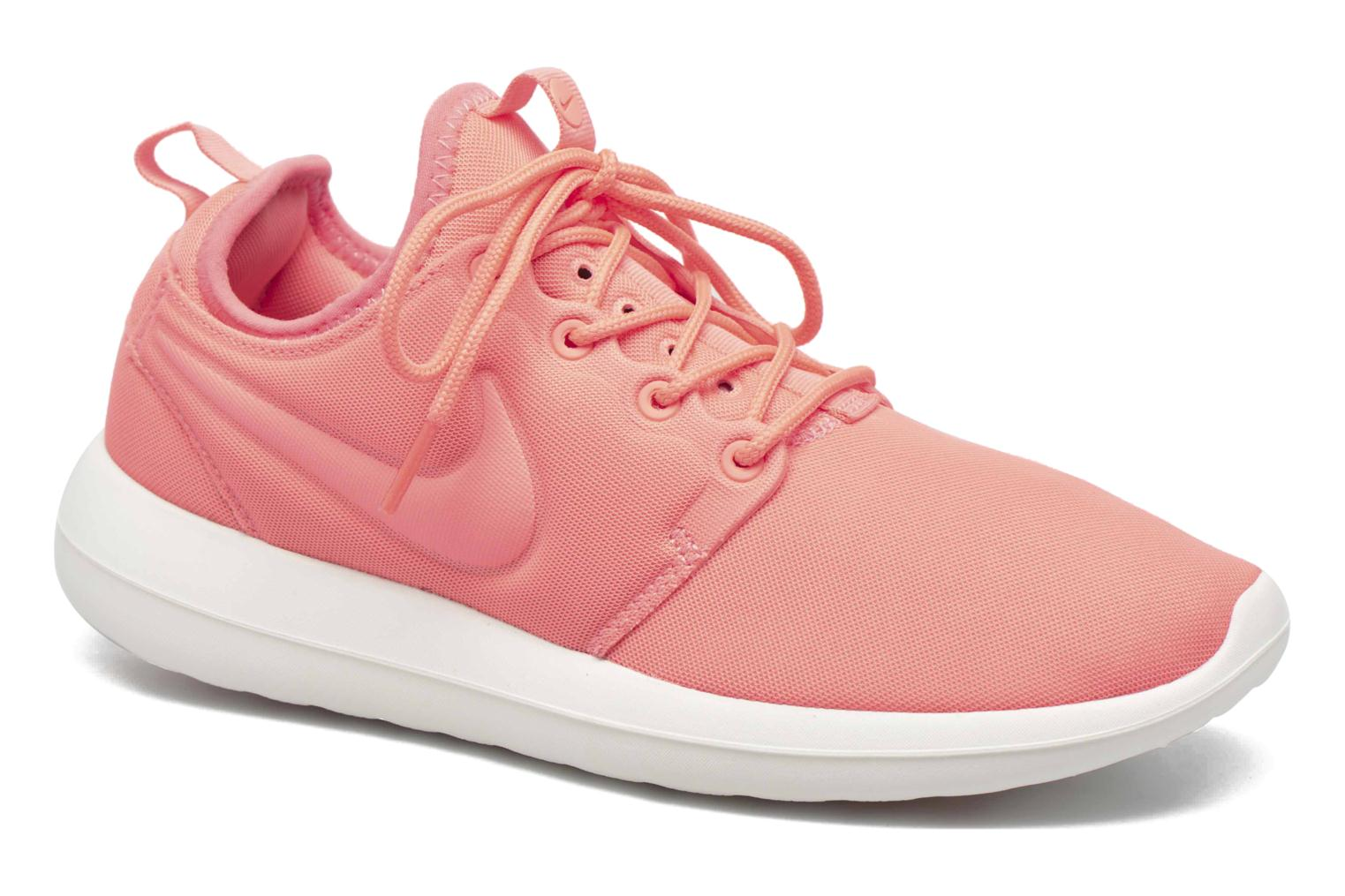 Baskets Nike W Nike Roshe Two Orange vue détail/paire