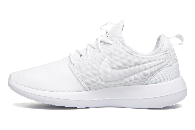 Baskets Nike W Nike Roshe Two Blanc vue face