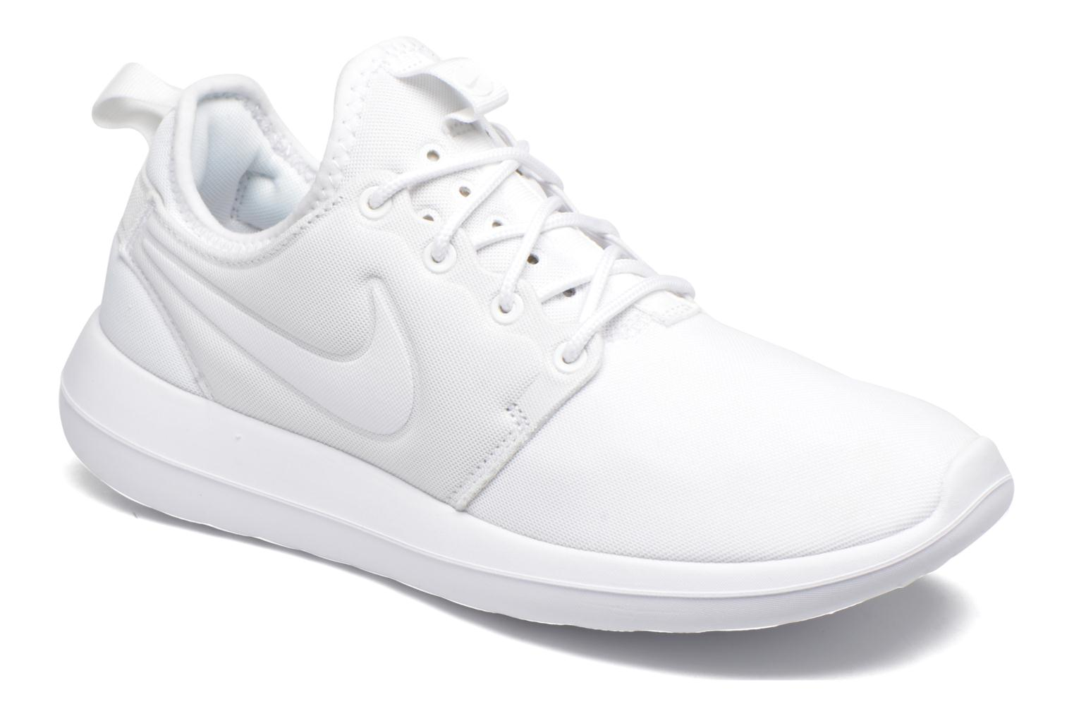 Baskets Nike W Nike Roshe Two Blanc vue détail/paire