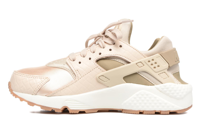 Sneakers Nike Wmns Air Huarache Run Prm Beige bild från framsidan