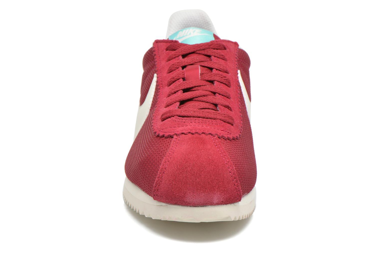 Sneakers Nike Wmns Classic Cortez Txt Bordeaux se skoene på