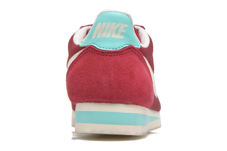 Sneakers Nike Wmns Classic Cortez Txt Bordeaux Se fra højre