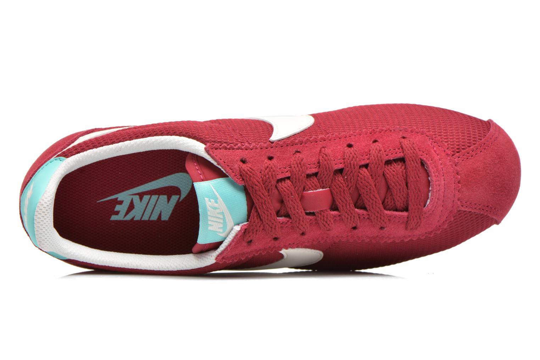 Sneakers Nike Wmns Classic Cortez Txt Bordeaux se fra venstre