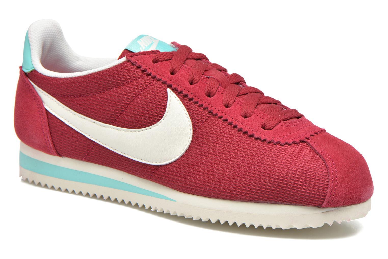 Sneakers Nike Wmns Classic Cortez Txt Bordeaux detaljeret billede af skoene