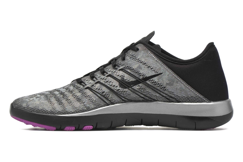 Chaussures de sport Nike Wmns Nike Free Tr 6 Mtlc Gris vue face