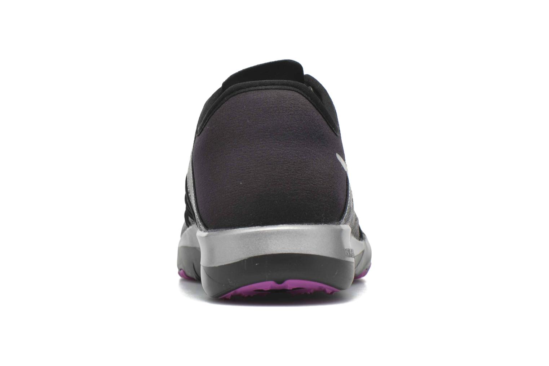Chaussures de sport Nike Wmns Nike Free Tr 6 Mtlc Gris vue droite