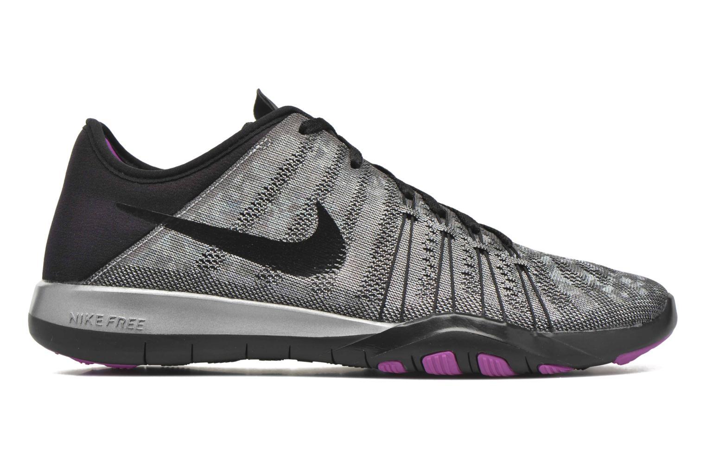 Chaussures de sport Nike Wmns Nike Free Tr 6 Mtlc Gris vue derrière