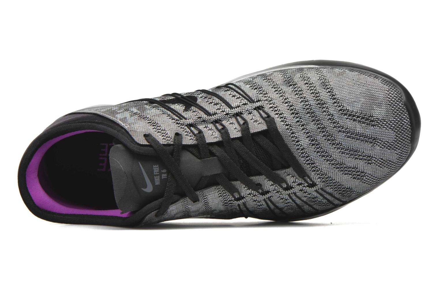 Sport shoes Nike Wmns Nike Free Tr 6 Mtlc Grey view from the left