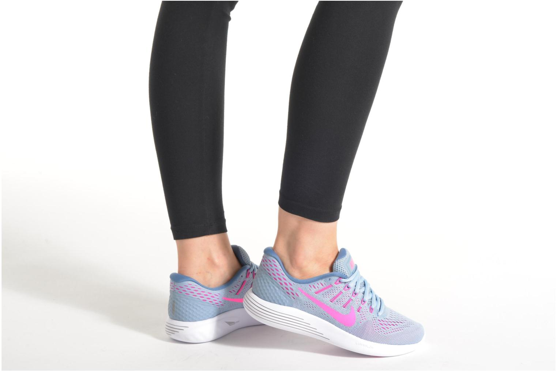 Wmns Nike Lunarglide 8 Bl Grey/Pnk Blst-Bl Tnt-Ocn Fg