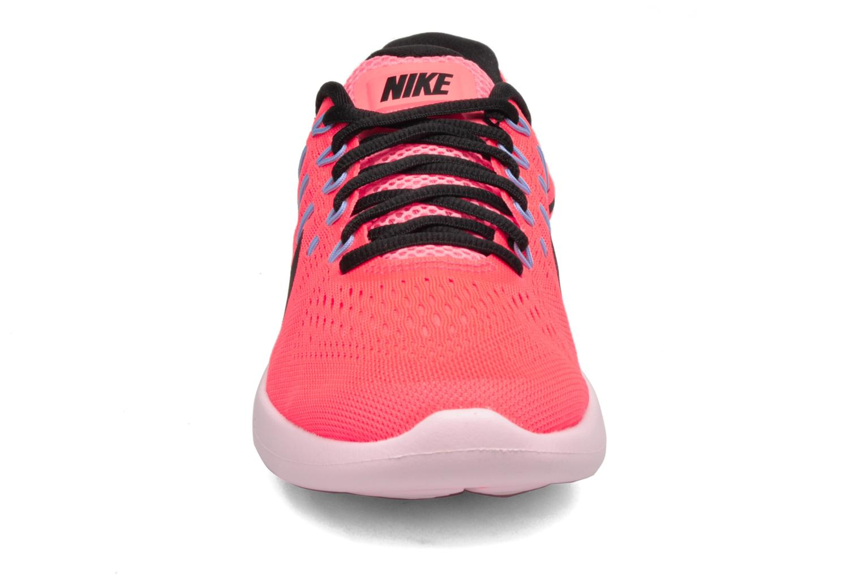 Chaussures de sport Nike Wmns Nike Lunarglide 8 Rose vue portées chaussures