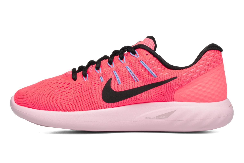 Chaussures de sport Nike Wmns Nike Lunarglide 8 Rose vue face