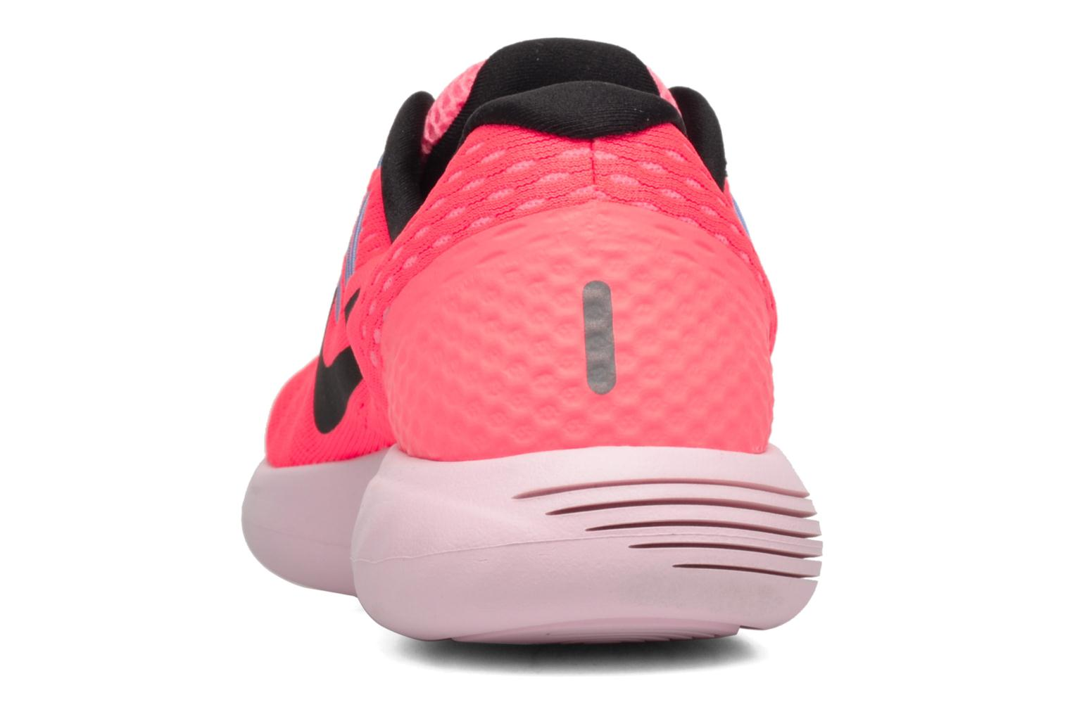 Sport shoes Nike Wmns Nike Lunarglide 8 Pink view from the right