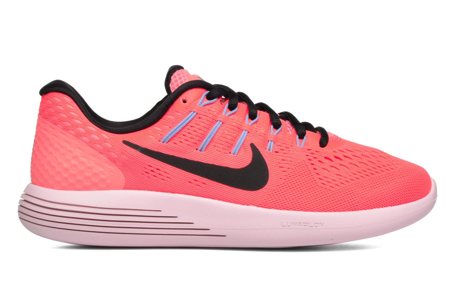 Sport shoes Nike Wmns Nike Lunarglide 8 Pink back view