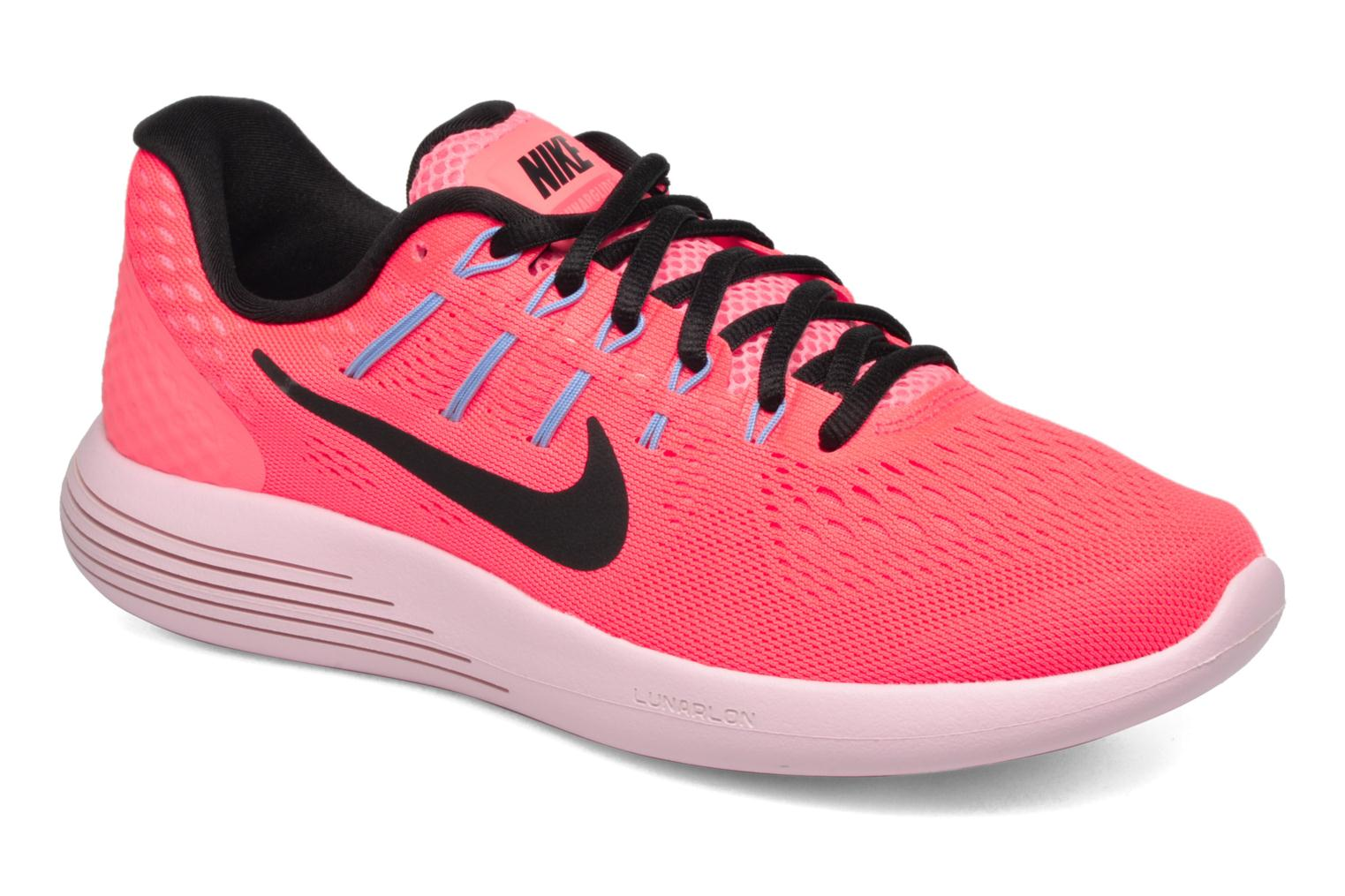 Sport shoes Nike Wmns Nike Lunarglide 8 Pink detailed view/ Pair view