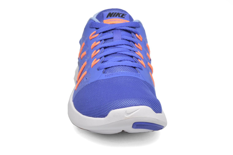Sportschuhe Nike Wmns Nike Lunarstelos blau schuhe getragen