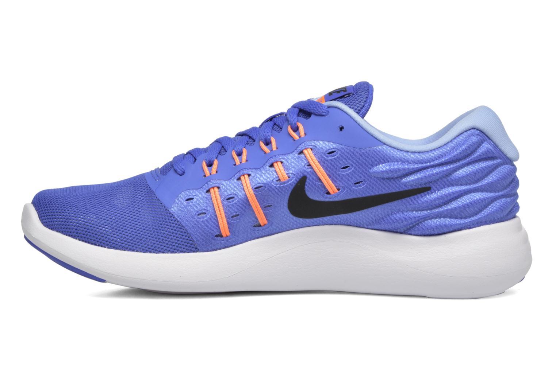 Chaussures de sport Nike Wmns Nike Lunarstelos Bleu vue face