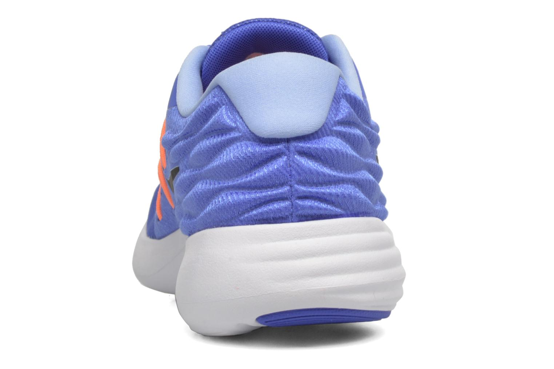 Sportschuhe Nike Wmns Nike Lunarstelos blau ansicht von rechts