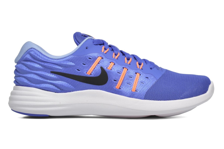 Sportschuhe Nike Wmns Nike Lunarstelos blau ansicht von hinten