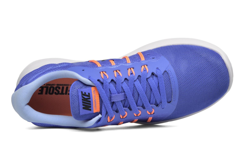 Chaussures de sport Nike Wmns Nike Lunarstelos Bleu vue gauche