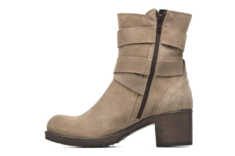 Ankle boots Sweet Lemon L.5.Escofi Beige front view