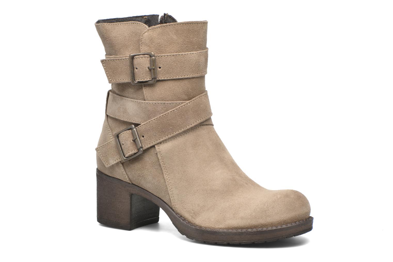 Ankle boots Sweet Lemon L.5.Escofi Beige detailed view/ Pair view