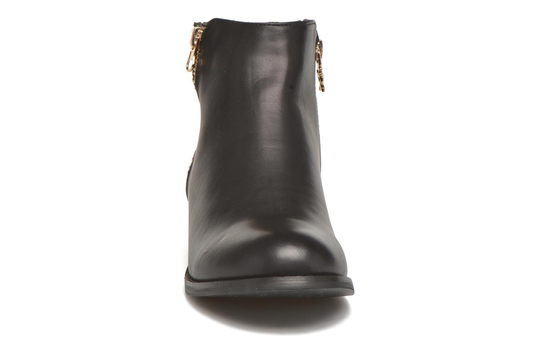 Stiefeletten & Boots Xti Patch-46068 schwarz schuhe getragen