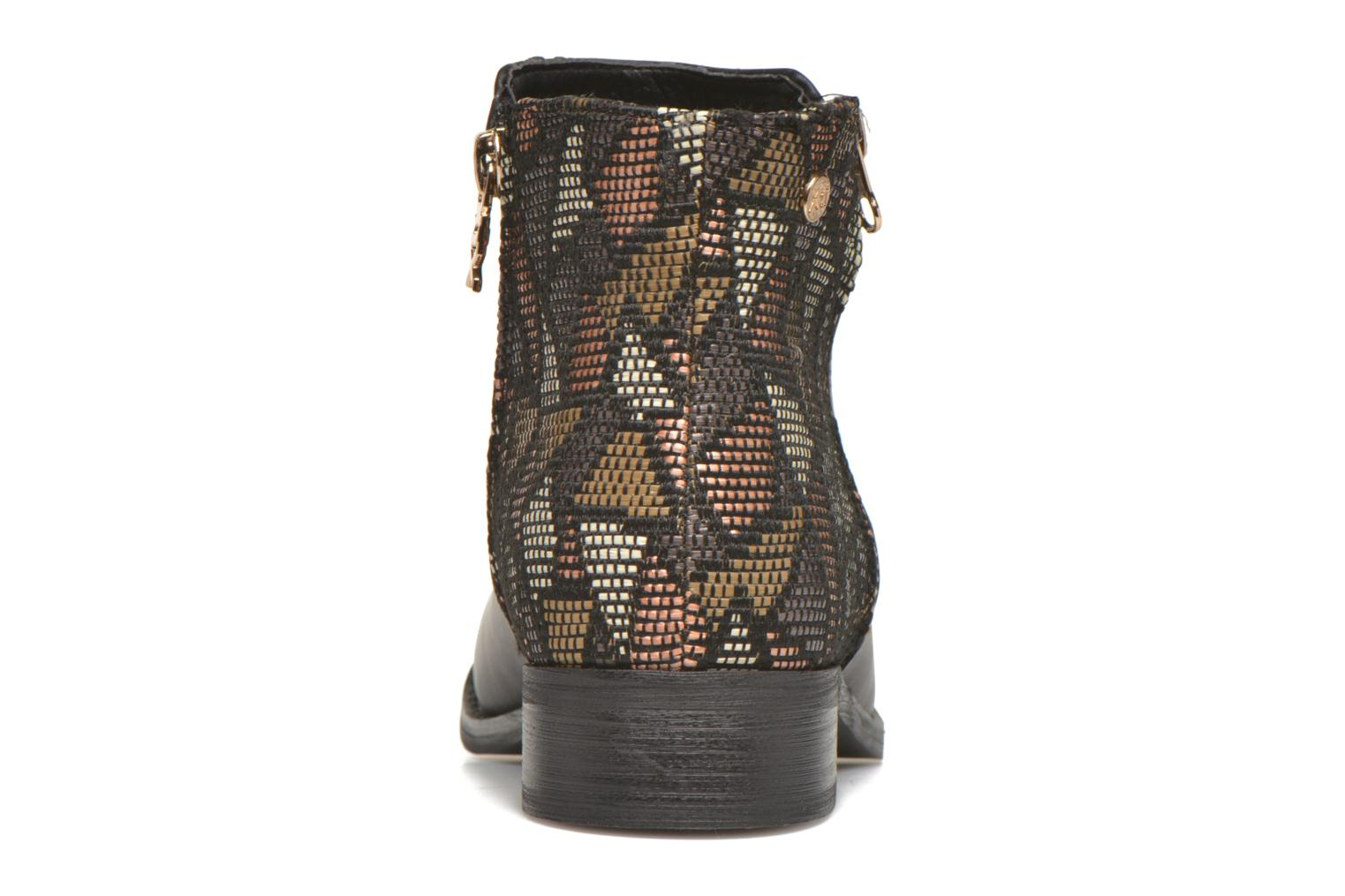 Ankle boots Xti Patch-46068 Black view from the right