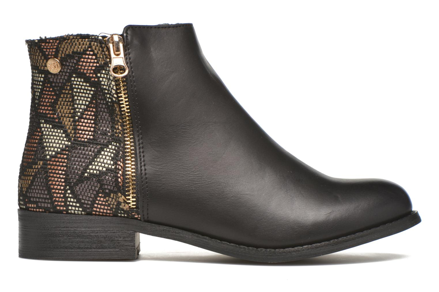Ankle boots Xti Patch-46068 Black back view