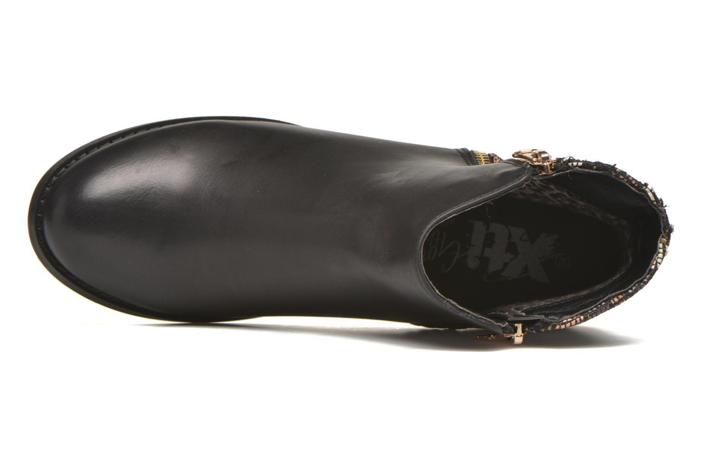 Stiefeletten & Boots Xti Patch-46068 schwarz ansicht von links