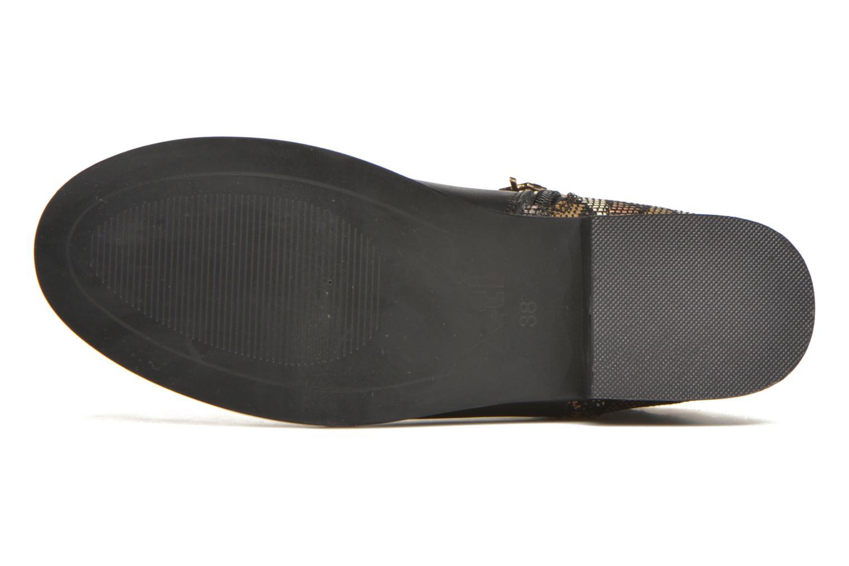 Bottines et boots Xti Patch-46068 Noir vue haut