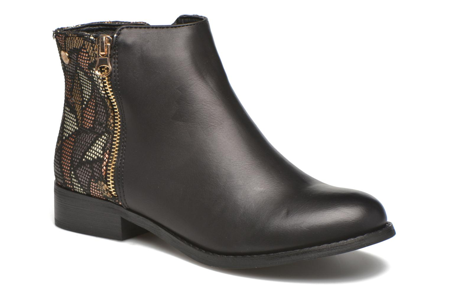 Ankle boots Xti Patch-46068 Black detailed view/ Pair view