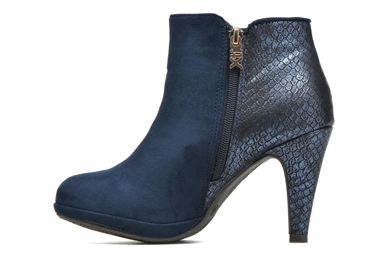Bottines et boots Xti Fresia-30222 Bleu vue face