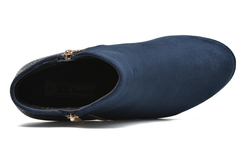 Bottines et boots Xti Fresia-30222 Bleu vue gauche