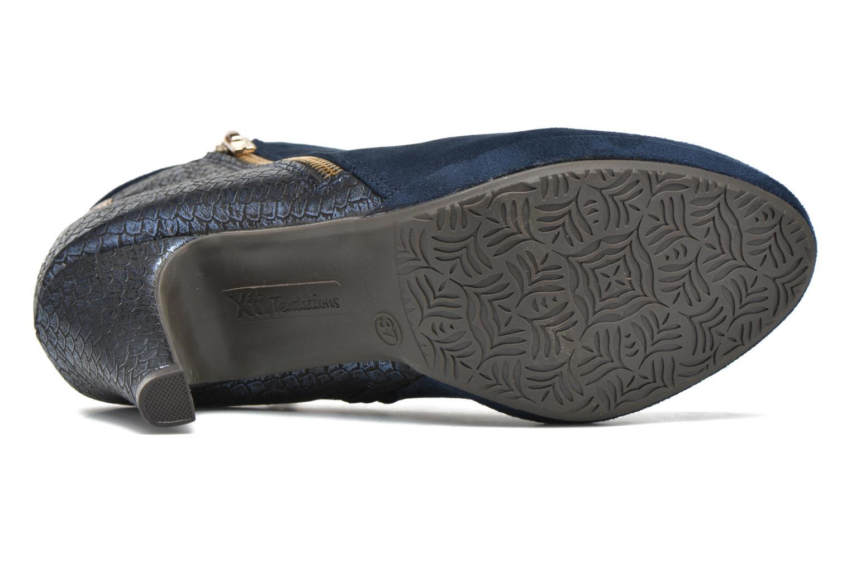 Bottines et boots Xti Fresia-30222 Bleu vue haut