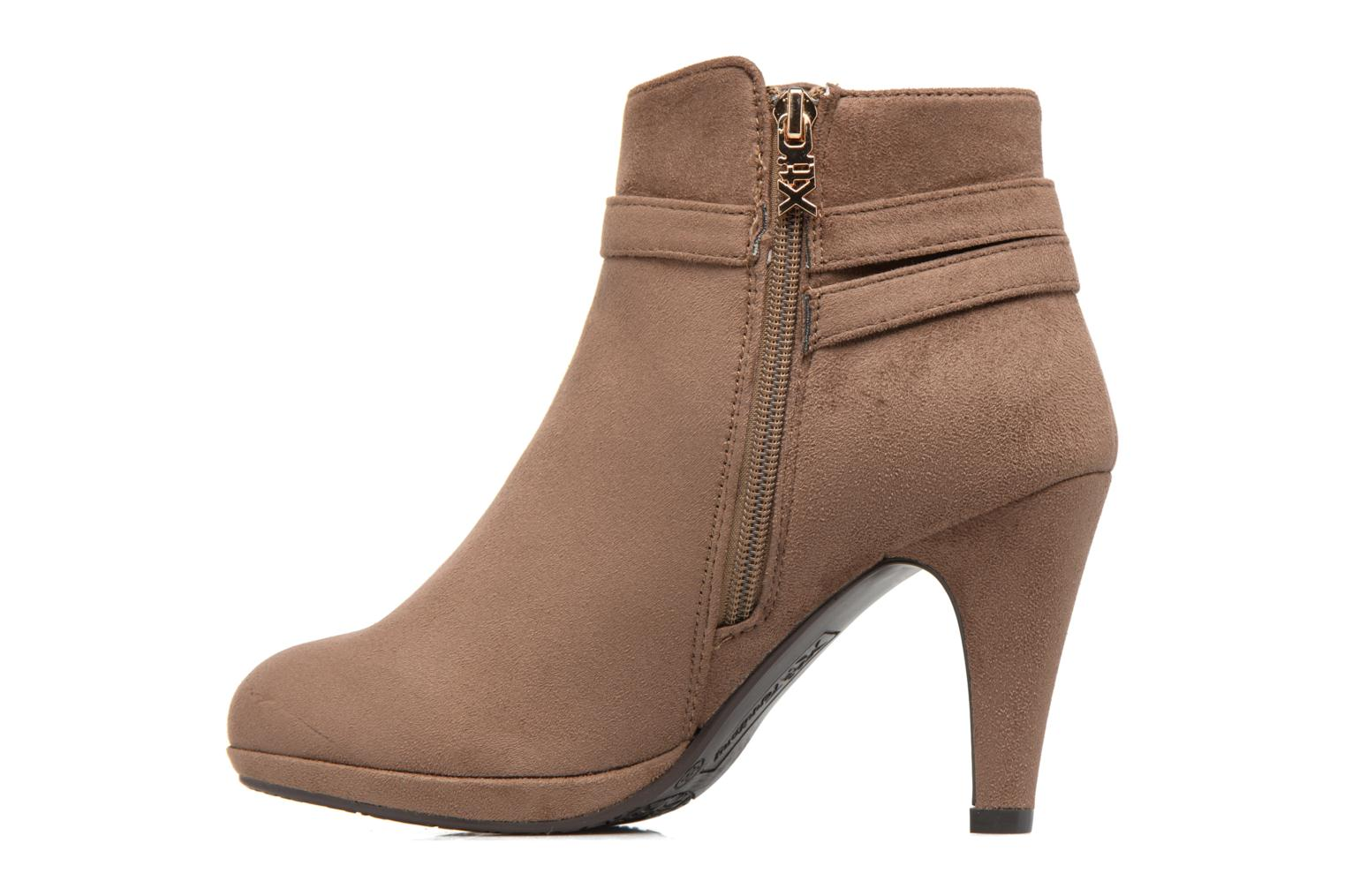 Ankle boots Xti Poppy-46013 Brown front view