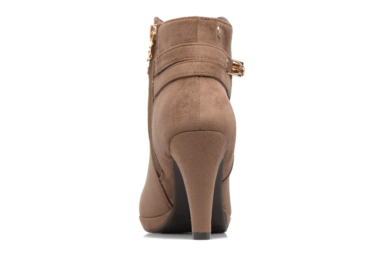 Ankle boots Xti Poppy-46013 Brown view from the right