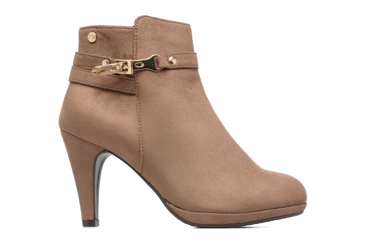 Ankle boots Xti Poppy-46013 Brown back view
