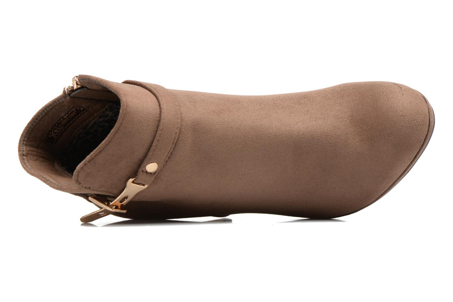 Ankle boots Xti Poppy-46013 Brown view from the left