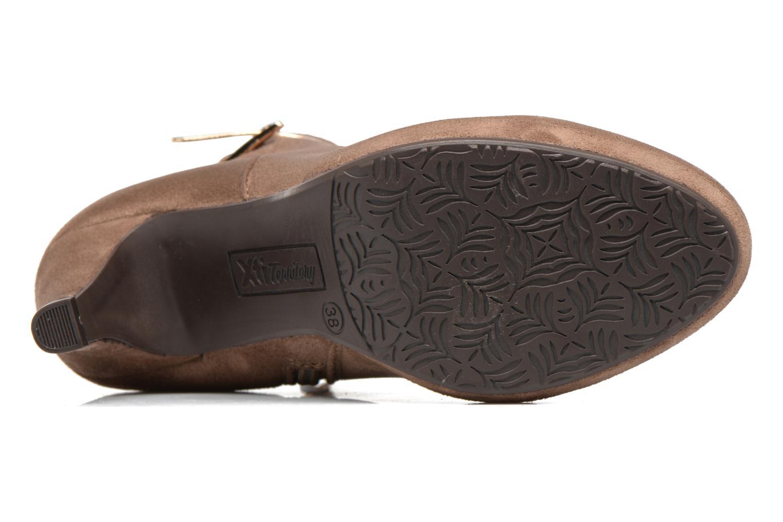 Stiefeletten & Boots Xti Poppy-46013 braun ansicht von oben